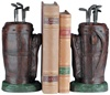 Golf Bag Bookends by Oklahoma Casting