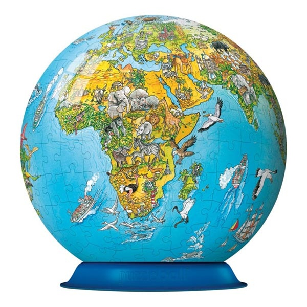 Illustrated world map puzzleball ships free low price alternative views gumiabroncs Choice Image