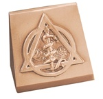 Triangle Shaped Dental Insignia Bookends