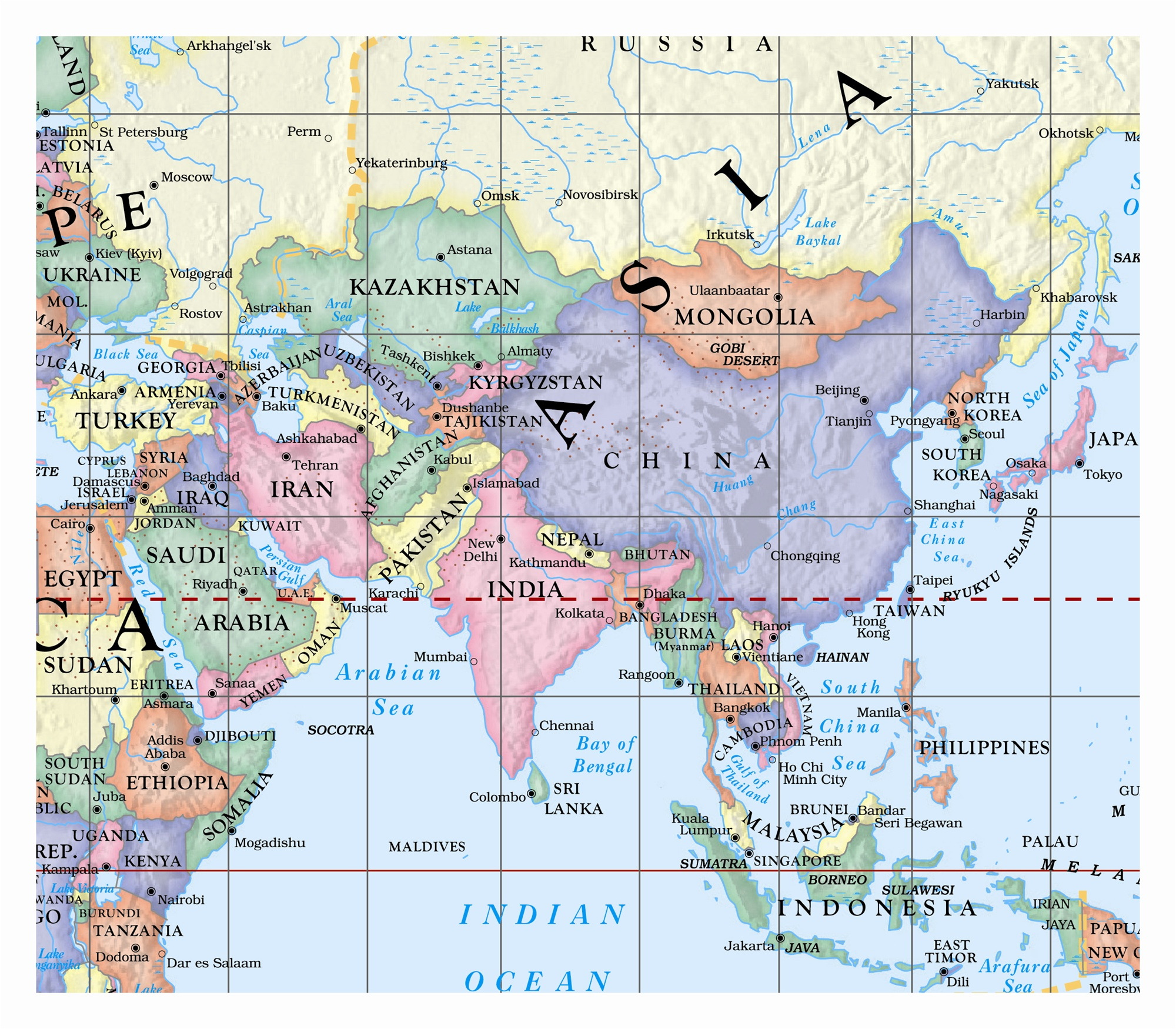 Globe US World Florida Classroom Wall Map Set Ships Free - Us globe map