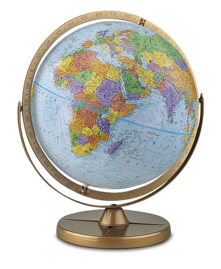 Us Globe Map