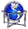 Compass Jewel Gemstone Globe by Replogle