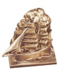 Tall Sailing Ship Bookends