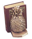 Half Pineapple Bookends