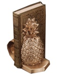 Scroll Pineapple Bookends