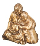 Teaching Father and Child Bookends