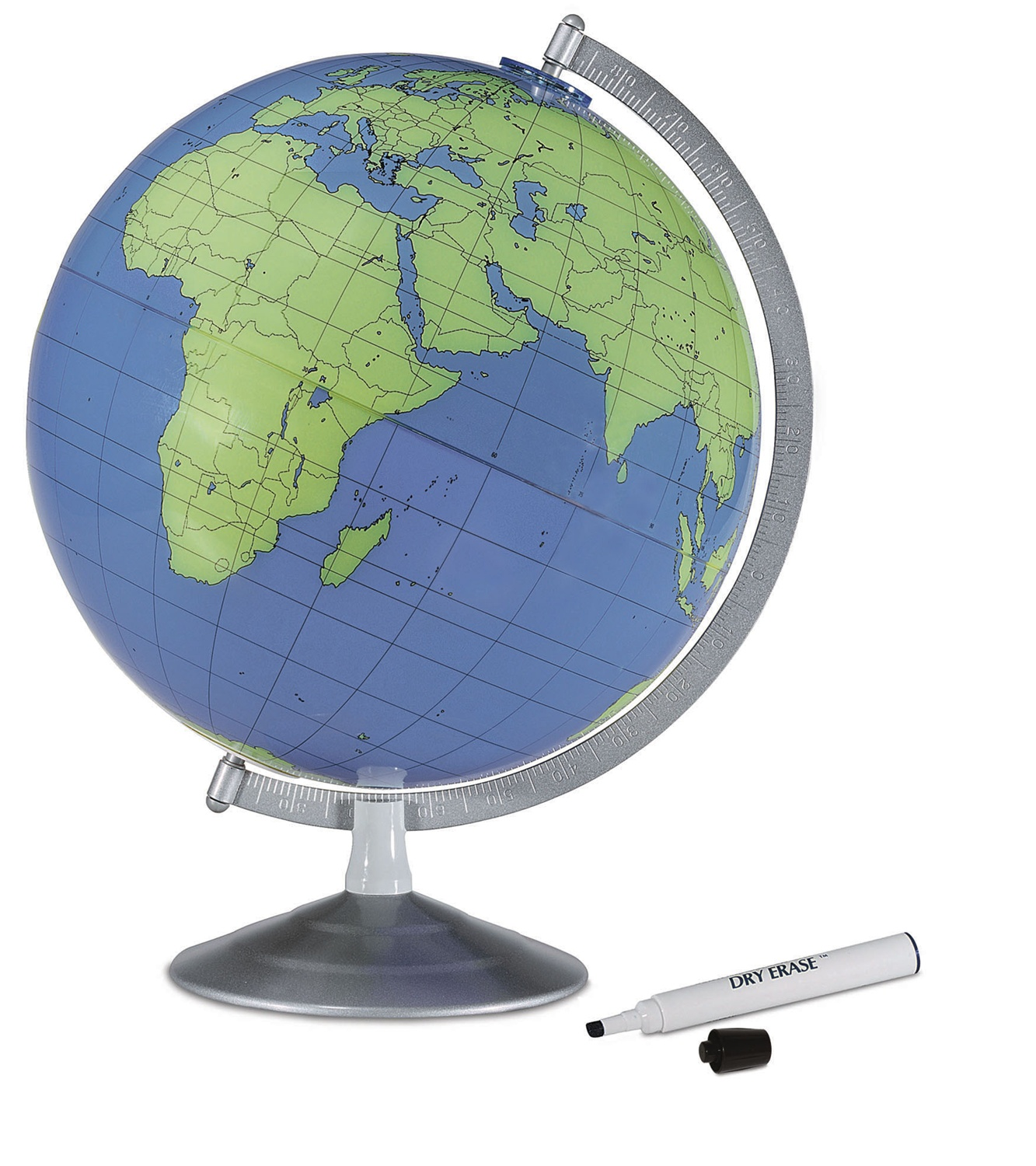 Replogle geographer dry erase globe ships free low price bookmark and share gumiabroncs Image collections
