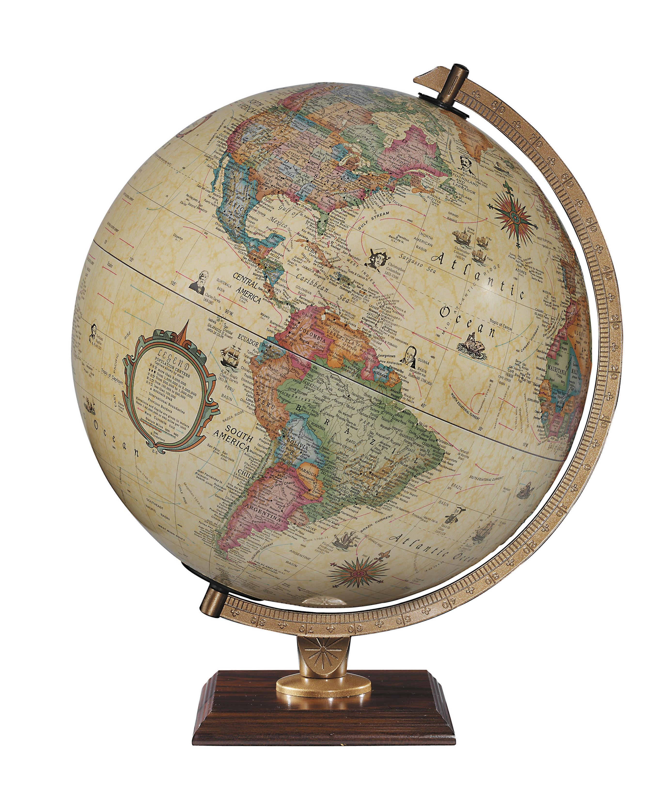 The Carlyle World Globe - Illuminated
