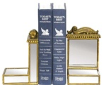 Mirrored & Scroll Bookends