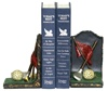 Golf Club with Accessories Bookends