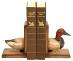 Duck Decoy Split Bookends