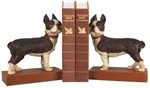 Standing Boston Terrier Bookends
