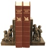 Nosey Neighbor Children Bookends