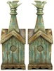 Bird House  with Bird Bookends