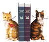 Cats Meow with Bird Bookends