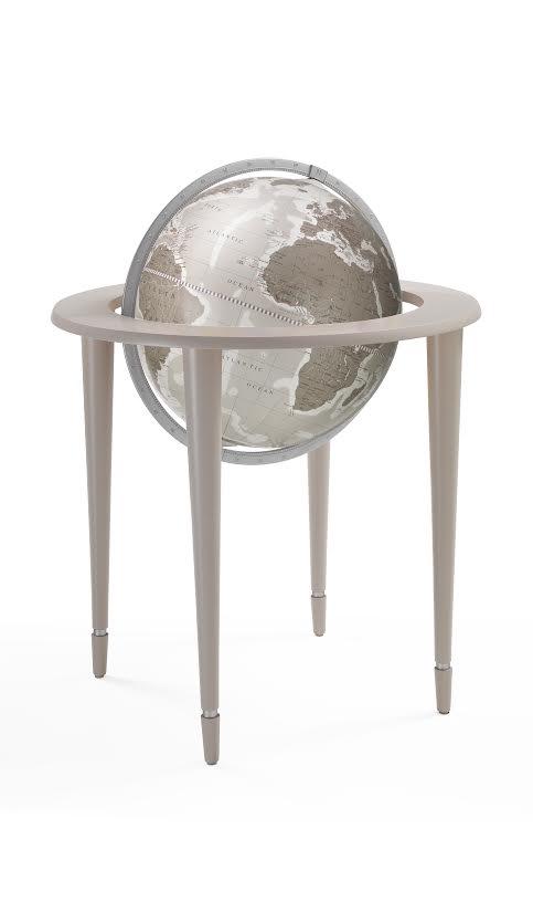 Gray Zoffoli Amerigo Vespucci 16 Inch Floor Globe