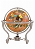 4 Inch Copperite Gemstone Globe