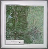 Raised Relief Map of Denver's Playground , Bumpy Maps