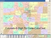 Colorado State Zip Code Map