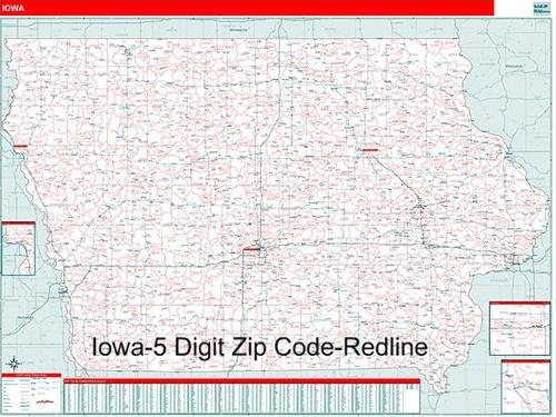 iowa zip codes map Iowa Zip Code Map With Wooden Rails From Onlyglobes Com iowa zip codes map