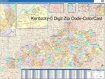 Kentucky State Zip Code Map