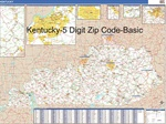 Kentucky Zip Code Map With Wooden Rails From OnlyGlobescom - Kentucky zip code map