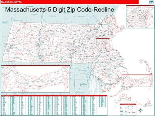 Mass Zip Codes Map | Zip Code MAP