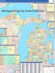 Michigan State Zip Code Map