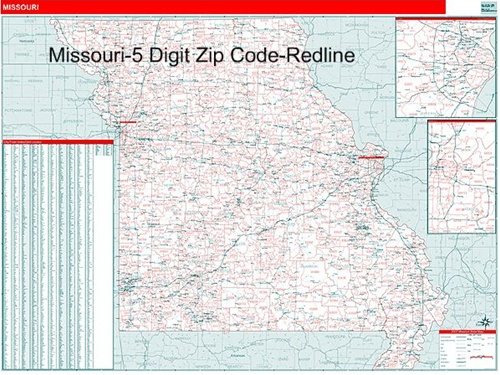 Zip Code Map Of Missouri