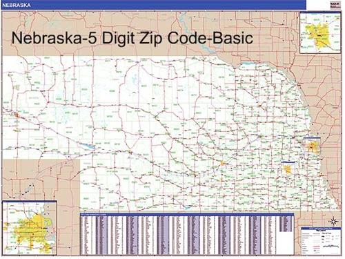 Neska Zip Code Map from OnlyGlobes.com on