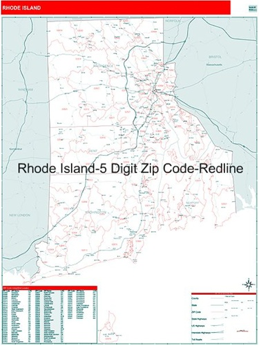 Rhode Island Zip Code Map Rhode Island Zip Code Map from OnlyGlobes.com
