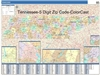 Tennessee State Zip Code Map