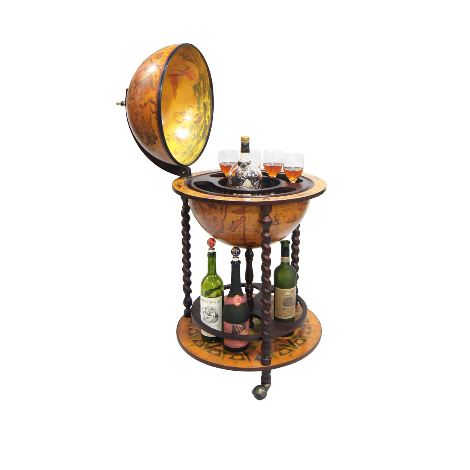 with shipping free today globe floors product illuminated overstock food antique floor gifts austin stand