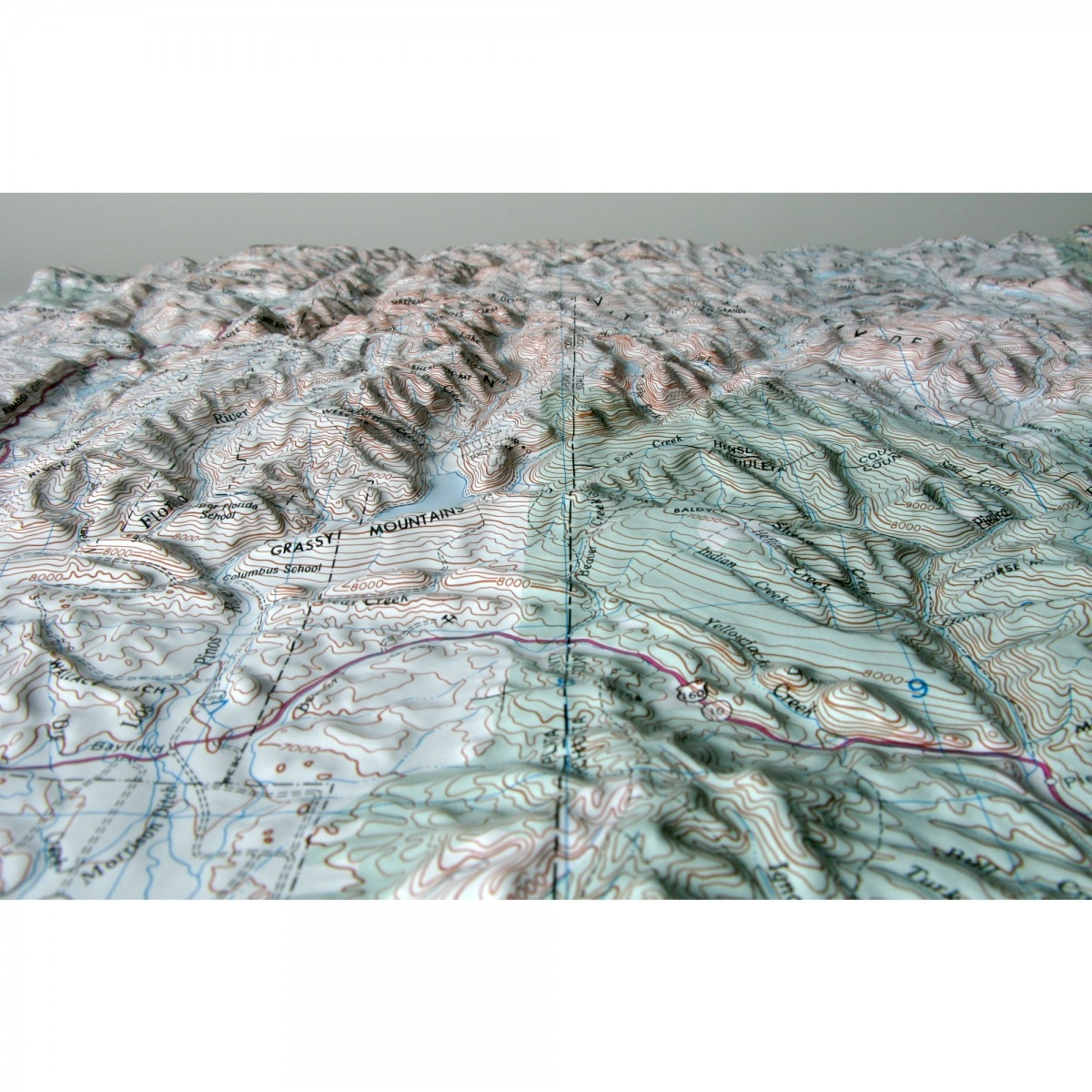 durango raised relief map from onlyglobes com durango colorado raised relief map