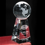 7 Inch Tapered Globe Award