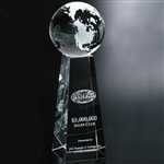 9 Inch Tapered Globe Award