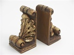 Acanthus Leaf Bookends