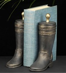Bronze Western Boot Bookends