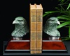 Bronze Eagle's Head Bookends
