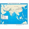 Map of Early Civilization In Asia