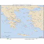 Map of Classical Greece, 150 BC