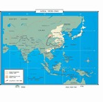 Map of Asia 1930-1941