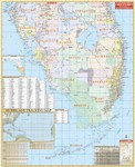 Wall Map of Southern Florida