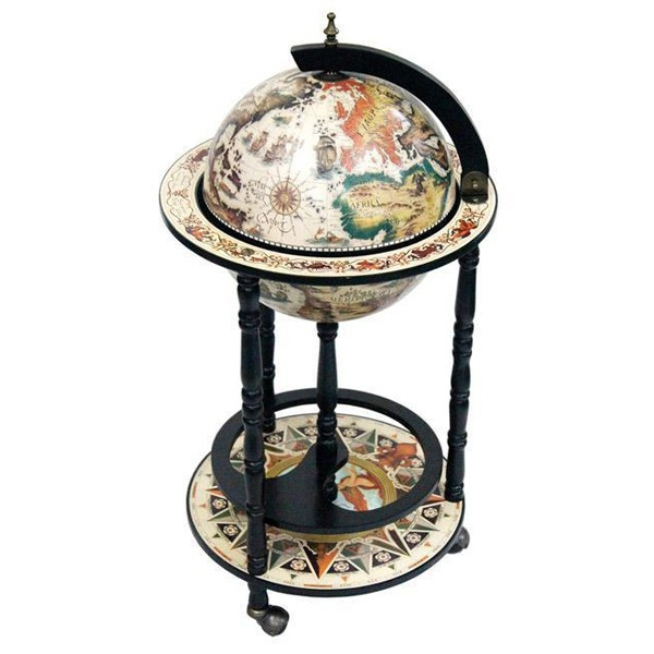 Wonderbaarlijk Rimini White Bar Globe | Ships Free & Low Price TU-02