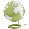 "Waypoint 12"" Diameter Light & Color Green Globe - Illuminated"