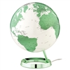 "Waypoint 12"" Diameter Light & Color Hot Green Globe - Illuminated"