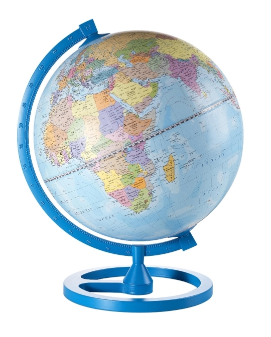Color Circle Sky Blue Desk Globe From Onlyglobes Com Free