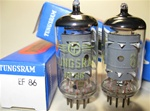 Brand New MINT NOS NIB RFT E. German EF86 tube with Tungsram Label.