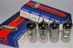 Brand New MINT NOS NIB Rare JAN-64 Tungsram EF86. Made in Hungary. Non corrosive alloy pins. NOT relabeled RFT E. German tubes which are common. Tungsram made some of the finer tubes in Eastern Europe due to its exposure to subsidiaries in Gt. Britain and
