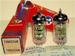Brand New MINT NOS NIB Rare Feb-1964 Tungsram EF86 - Serialized with Guarantee Certificate. Made in Hungary. Non corrosive alloy pins. NOT relabeled RFT E. German tubes which are common. Tungsram made some of the finer tubes in Eastern Europe due to its